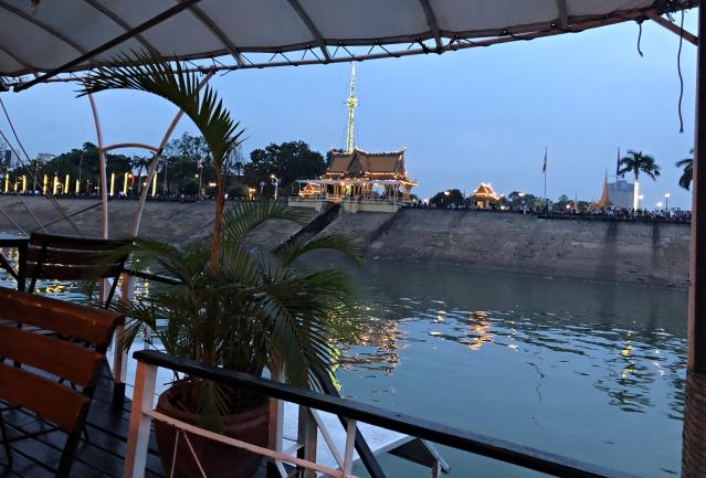 カンボジアクルーズの景色